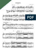 ADONODA, Op. 89-Score