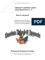 Clinical Hypnosis, Training Manual From a - Z