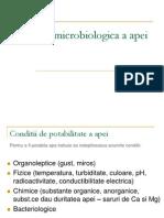 Analiza Bacteriologic A a Apei