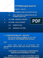 ID System Legal Aspect