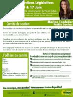 Comité de soutien Marine Tondelier 2012 PDF