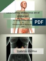 Desordenes Endocrinos en El Embarazo