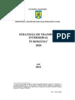 Strategie de Transport Inter Modal Text