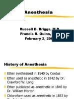 Anesthesia 200002