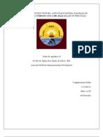 Entreprenuer Development Report1