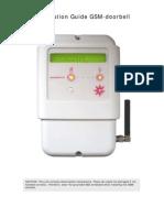Installation Guide GSM-Doorbell