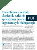 Metodo Sismico Geotecnia y Prospeccion