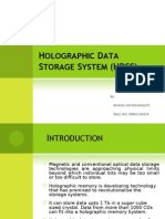 Holographic Data Storage Systems