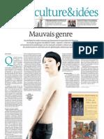 Le Monde - 1er Octobre 2011 - Soyons Queer !