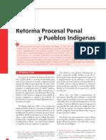 Marensi - 2007 - Reforma procesal penal y pueblos indígenas