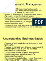 Entrepreneurship Management 1