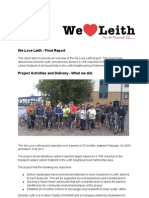 We Love Leith Final Report