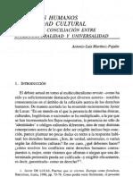 Martínez-Pujalte - 1998 - Derechos humanos e identidad cultural. Una posible