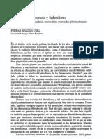 Requejo Coll - 1996 - Pluralismo, democracia y federalismo una revisión