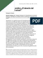 Rodríguez M. - 1991 - Pluralismo jurídico ¿El derecho del capitalismo ac