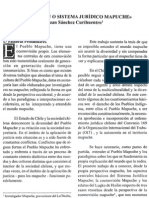 Sánchez - 2001 - El AzMapu o Sistema Jurídico Mapuche