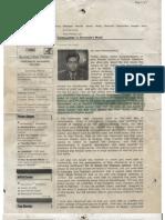 Letter of Rajdeep Sardesai to Shri Narendra Modi on 28/12/2002