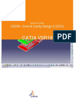 CATIA - Core & Cavity Design 2 (CCV)