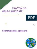 Contaminacion Del Medio Ambiente Diapositivas