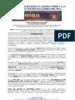 """""""CAUSAS DE LA RESISTENCIA AL SENTIDO COMÚN Y A LA EVIDENCIA EN SQM"""". Conferencia online de Mi Estrella de Mar en el acto de presentación de la AAEIAA (29/02/12)"""