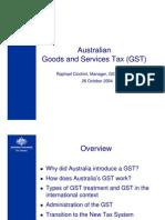Australia GST _ 2004