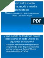 Presentacion de Power Sobre Medidas de Tendencia Central