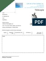Télécopie PDF