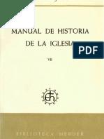 Manual de Historia de la Iglesia - Hubert Jedin T1