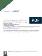 Best Paper Organization Culture Efffectiveness