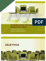 COMUNICACIÓN PARA EL MANEJO DE CRISIS 00