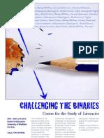 Challenging the binaries