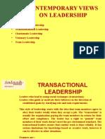 Issues in Leadership III