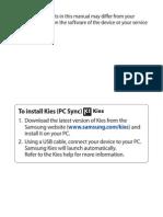 Samsung Galaxy w UM