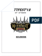 Nittfest'12 Rulebook v0