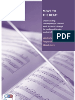 1.Move to the Beat - Pre-workshop Booklet