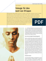 DMR 05 02 Denkwerkzeuge f Das Wissensmanagement