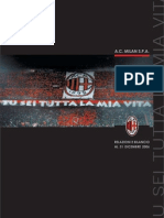 AC Milan Bilancio (Accounts and Report) 2006