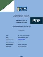 TRABAJO DE TECNOLOGÍA EDUCATIVA 2012