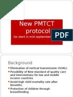 New Pmtct Protocol