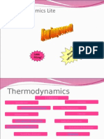 Thermodynamics Lite