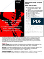 Black Women's Advisory Board Application