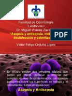 Asepsia y antisepsia, métodos de desinfección y esterilización