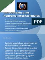 1. Intro a Los Negocios Internacionales