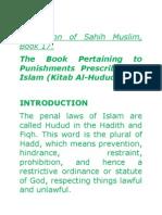 Translation of Sahih Muslim