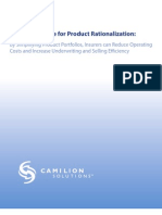 Attachment J - Camilion Solutions Making the Case for Product Rationalization White Paper