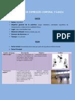 sesion nº 5 de expresion corporal completa en pdf
