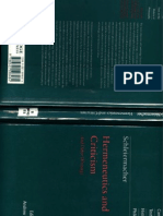 Schleiermacher Hermeneutics and Criticism