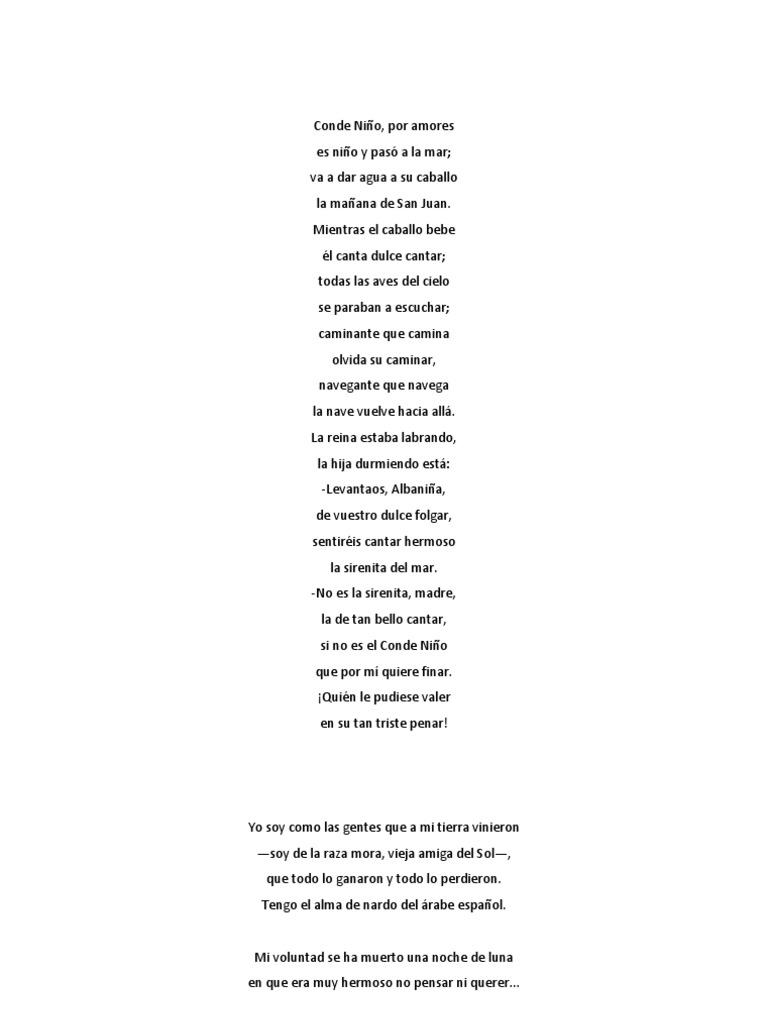 poemas y textos para oratoria