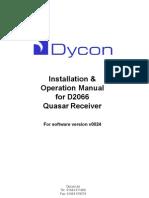 D2066 Quasar Manual v1 050728