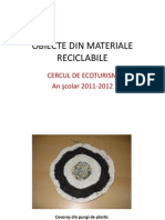 Obiecte Din Materiale Reciclabile